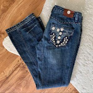 Antik Denim Fawcett Coin Bootcut Jeans Size 30